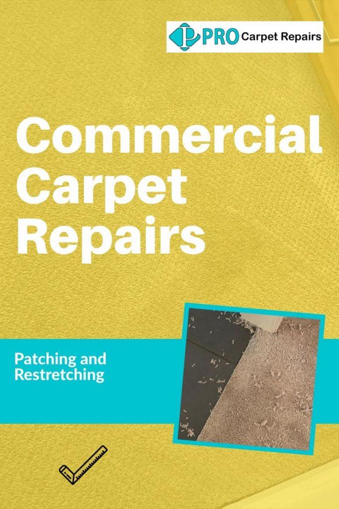 Commercial carpet repair service